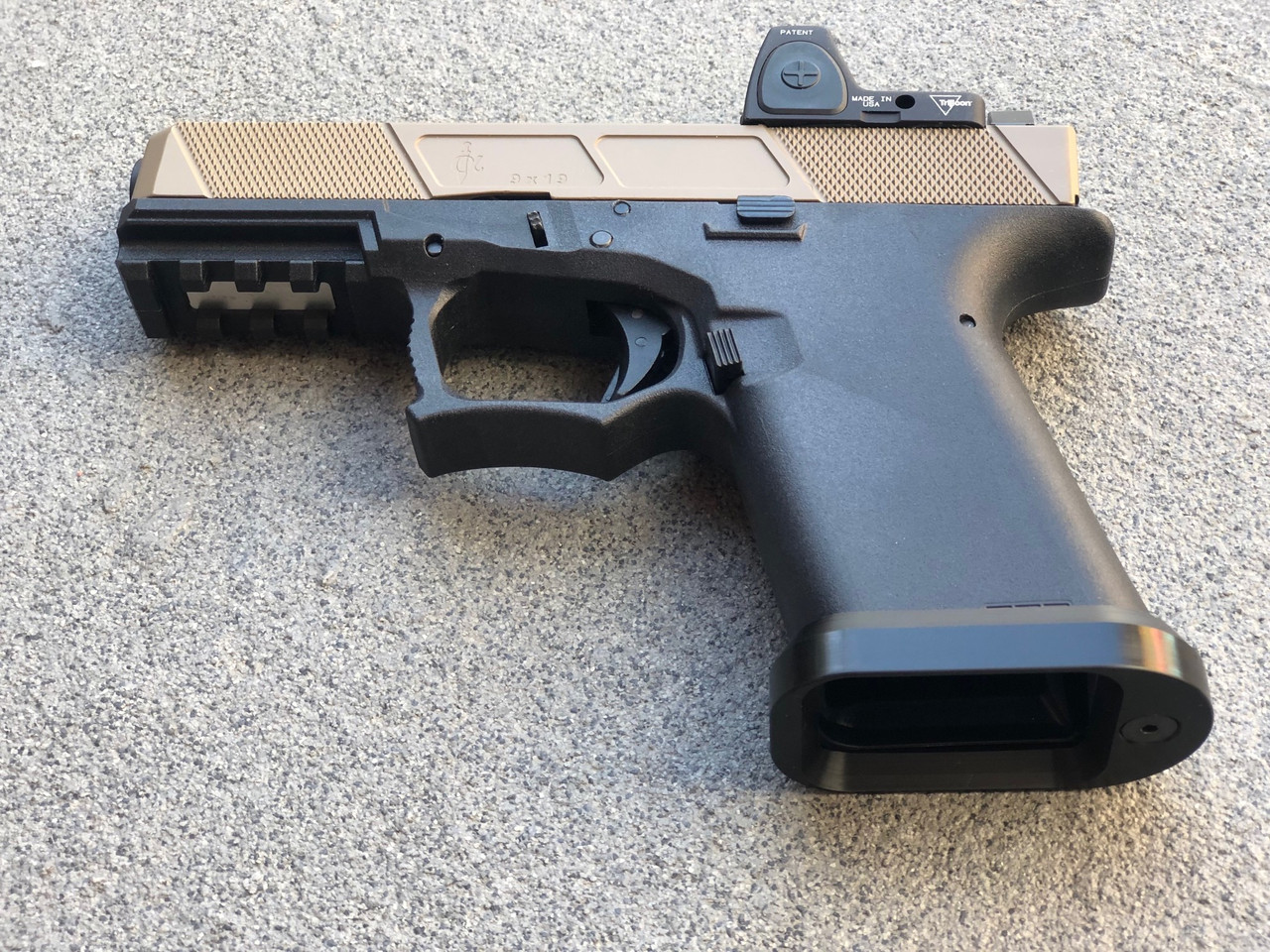 MDX Arms Lightweight Delrin Magwell for Glock