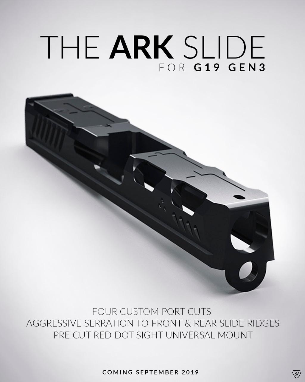 Strike Industries ARK G19 Gen3  Stripped Slide