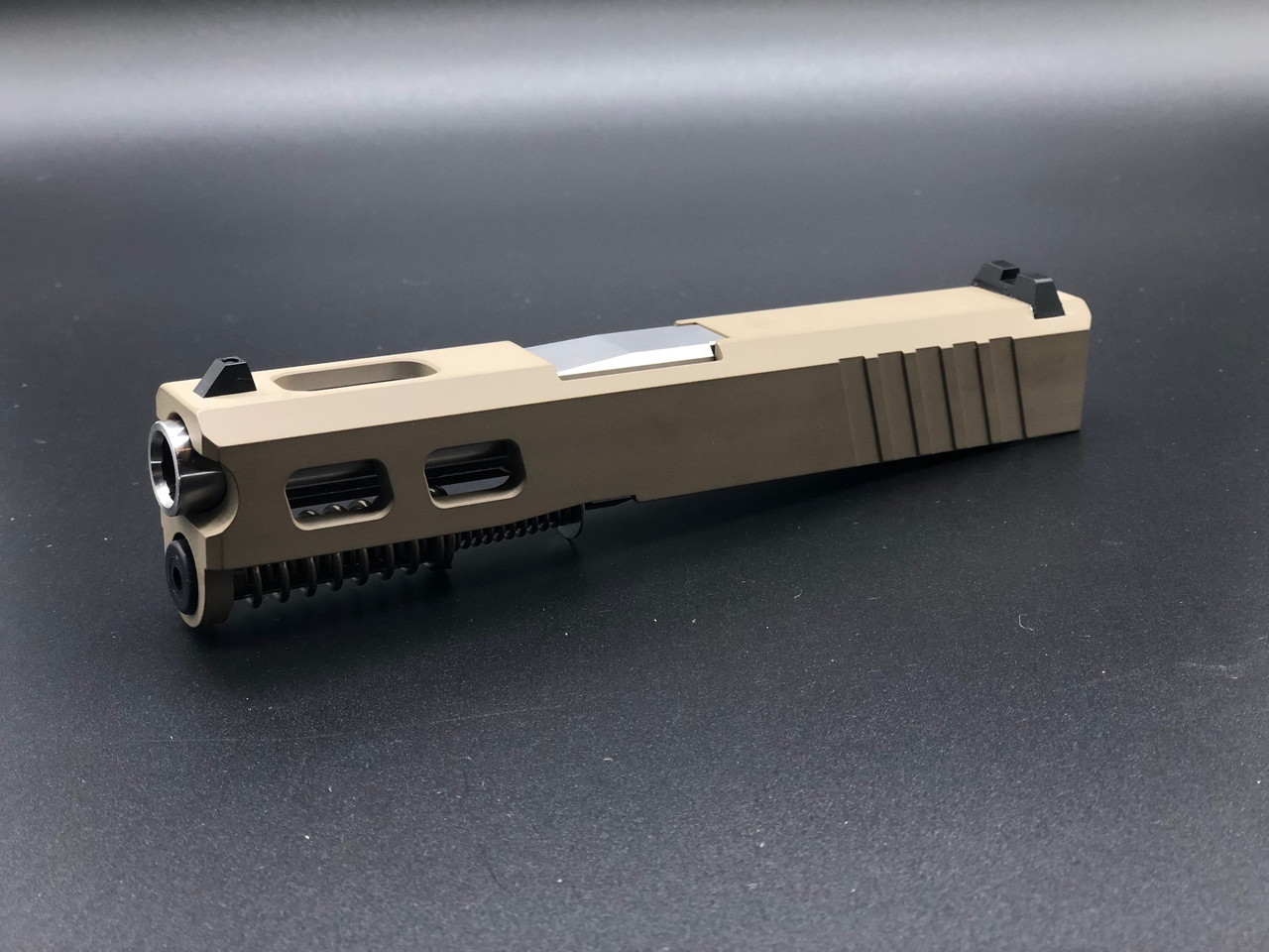 MDX Arms Custom G4 G43 Complate Slide with Ultra Match Grade Barrel in FDE