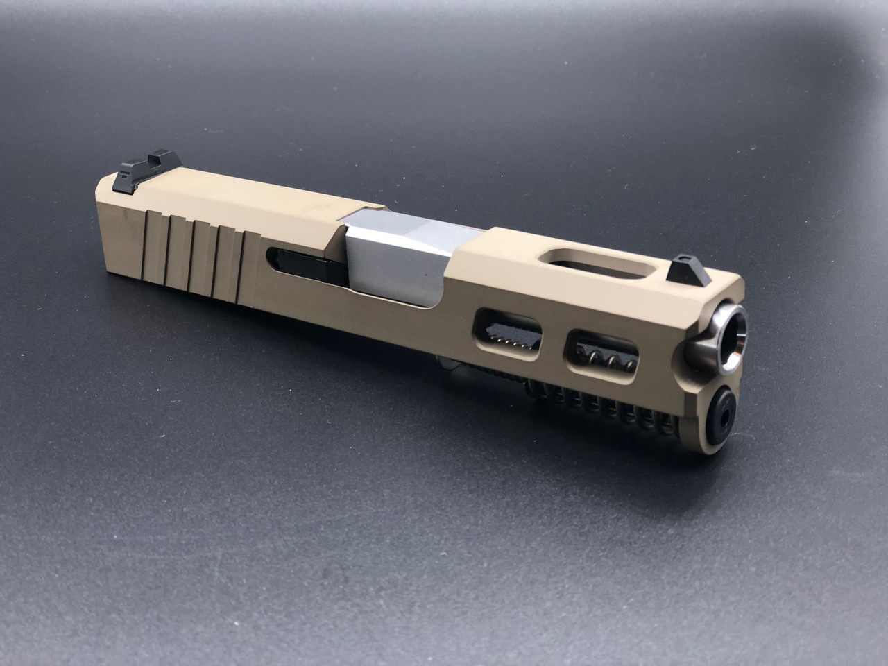 MDX Arms Custom G4 G43 Complate Slide with Ultra Match Grade Barrel in Fde Right
