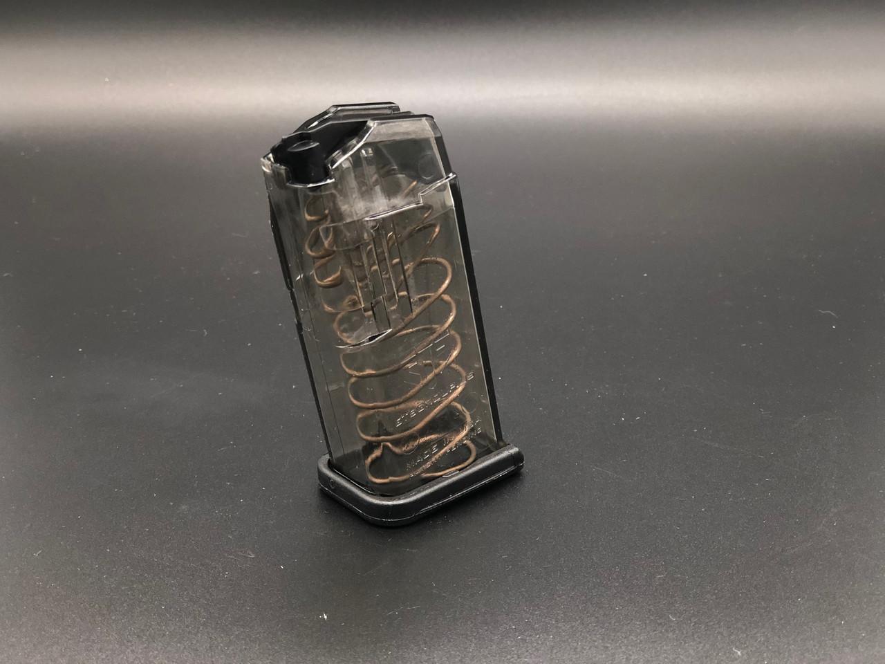 Elite Tactical System (ETS) Glock G43 7rnd 9mm Clear Polymer Finish