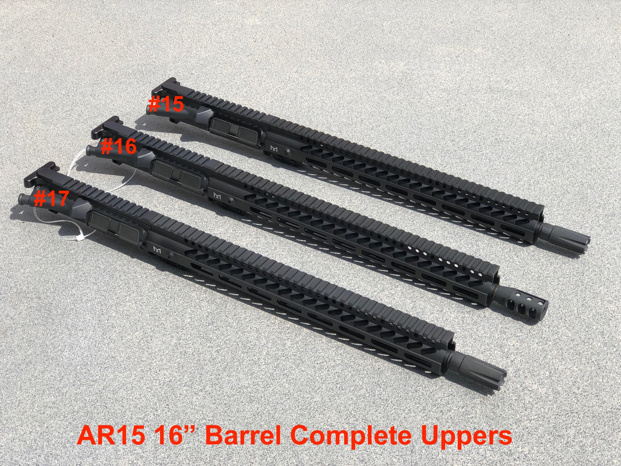 MDX Arms COVIDRIFLE Complete Uppers - WILL CALL ONLY