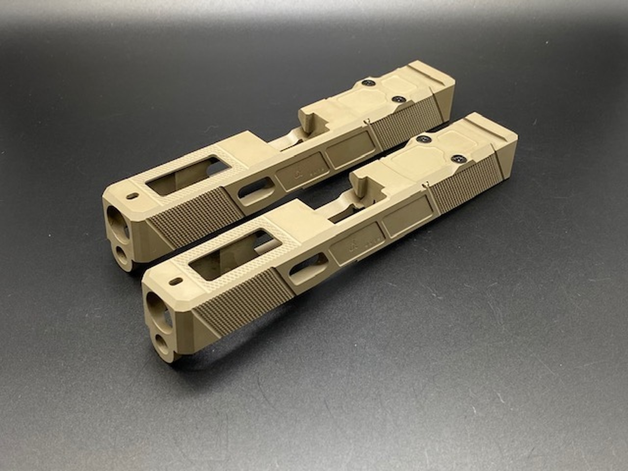 Alpha Sports V5 G19 Executive Carry Stripped Slide - Gen.3 FDE Cerakoted