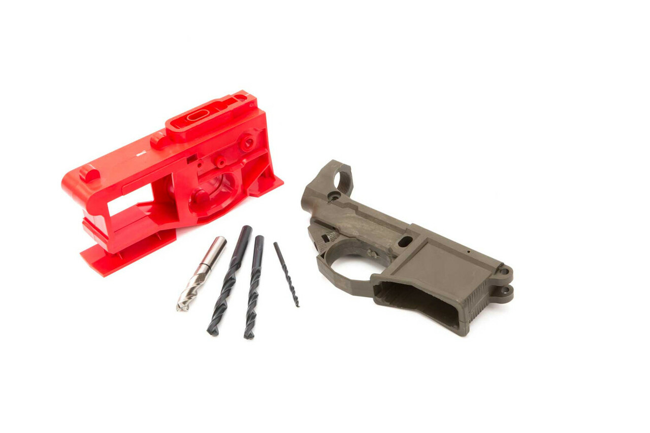 Polymer80 G150 (AR15) 80% Lower with Jig System