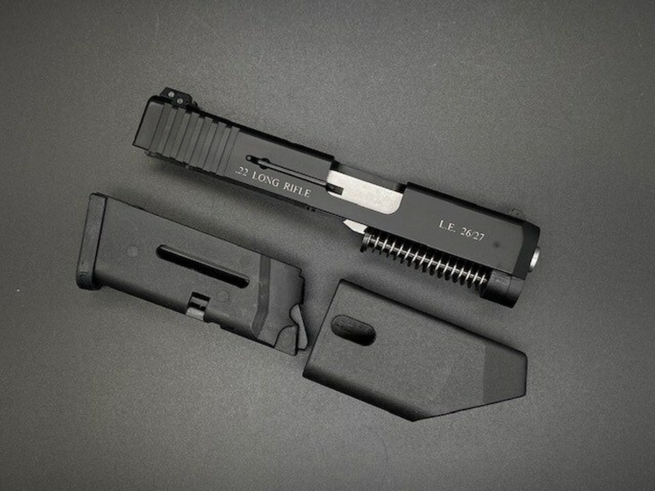 MDX Arms .22 LR (Long Rifle) G26/G27 Compact Build Kit - No Frame