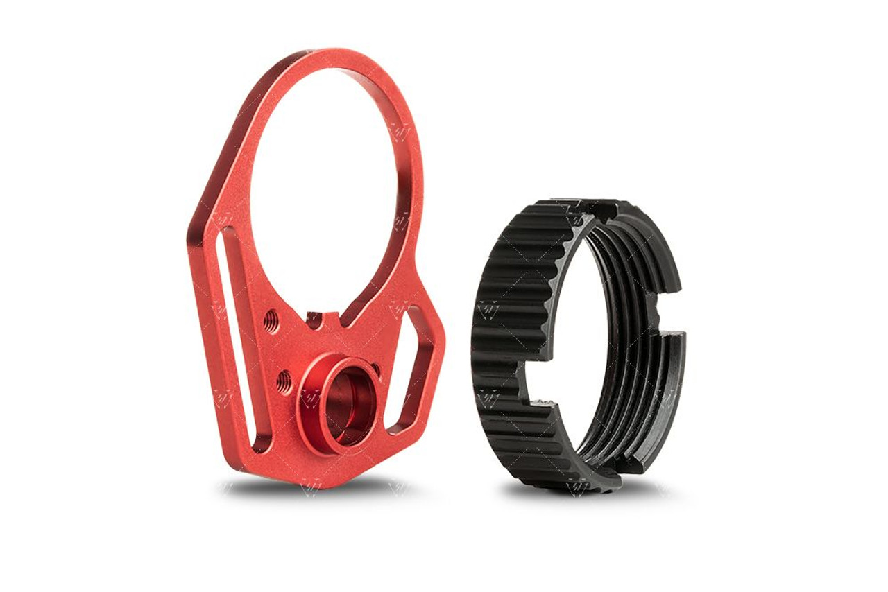 Strike Industries Ultralight Multi-Function End Plate and Anti-Rotation Castle Nut