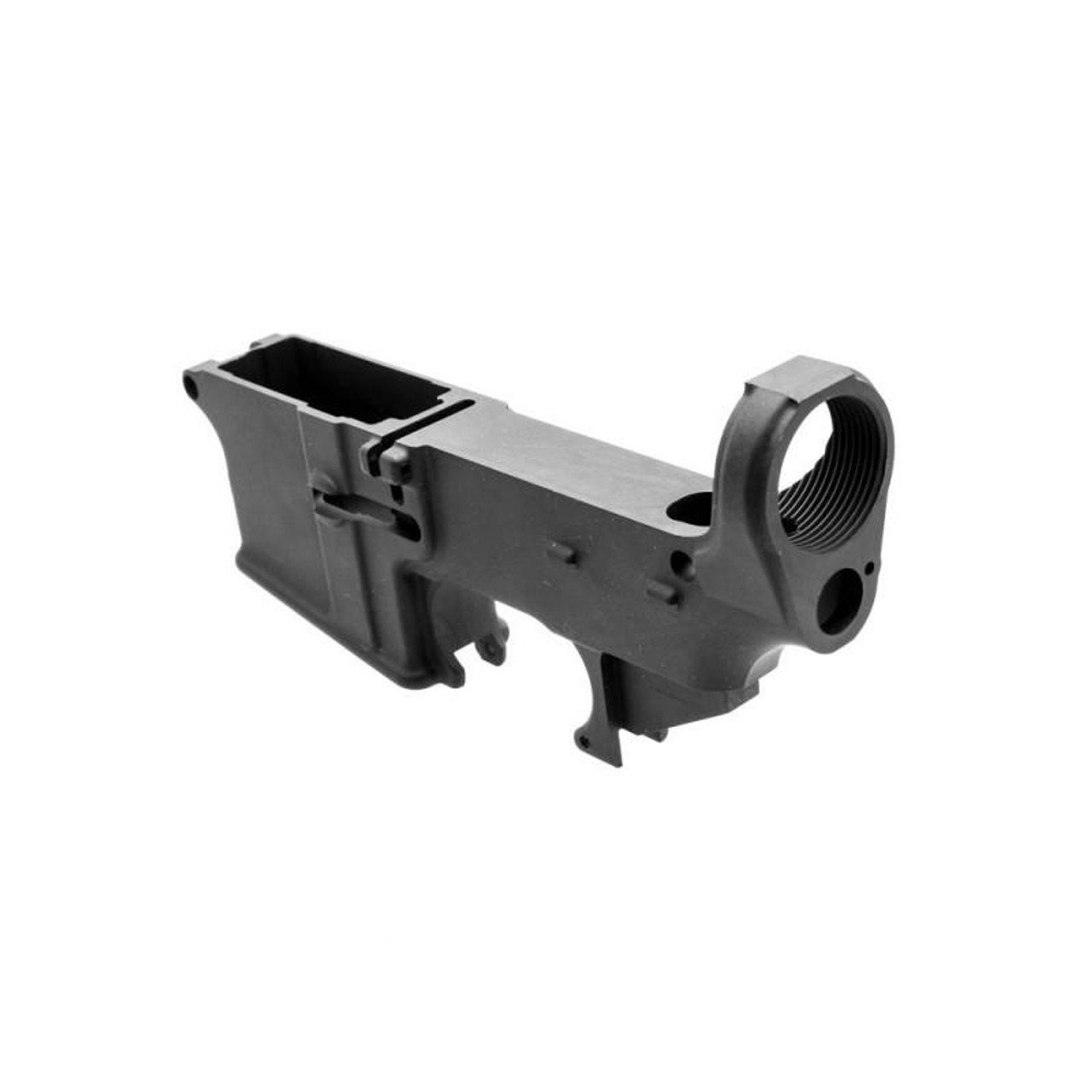 MDX Arms 7075-T6 80% AR15 Lower Anodized with Open Trigger Guard