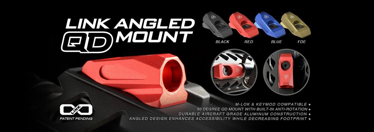 Strike Industries Link Angled QD Mount