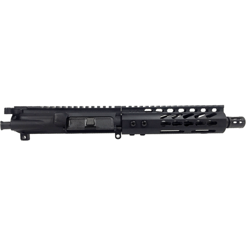 """MDX Arms 7.5"""" 5.56 Keymod HG 1:7T Pistol Gas Length with A2 FH Complete AR Pistol Upper"""