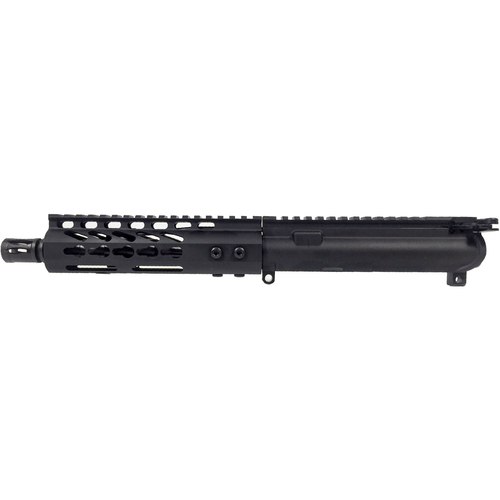 "MDX Arms 7.5"" 5.56 Keymod HG 1:7T Pistol Gas Length with A2 FH Complete AR Pistol Upper"