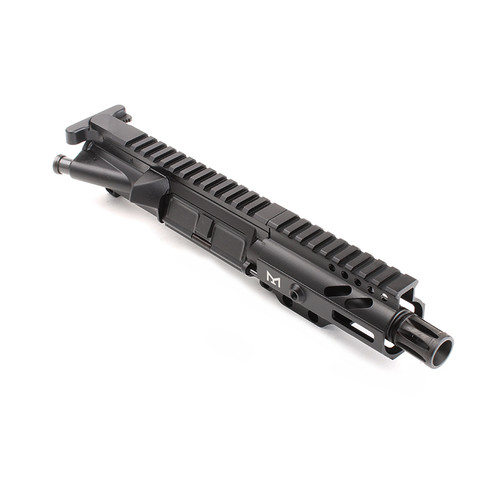"MDX Arms AR-9mm Pistol 4.5"" 1:10T with 4' Super Slim Mlok HG without Bolt"
