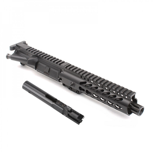 "MDX Arms AR-9mm Pistol 7.5"" 1:10T with 7' Super Slim Mlok HG with bolt"