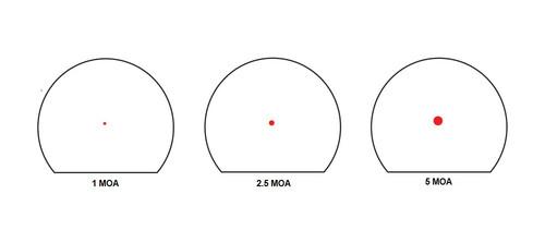 Trijicon Specialized Reflex Optic (SRO) Adjustable LED MOA Red Dot Listing