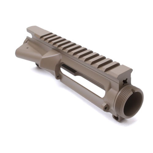 MDX Arms Cerakoted AR15 Forge Upper Receiver Stripped  Fde front