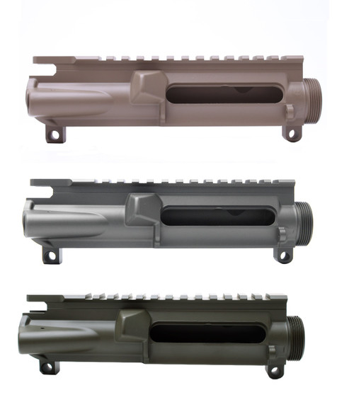 MDX Arms Cerakoted AR15 Forge Upper Receiver Stripped  group