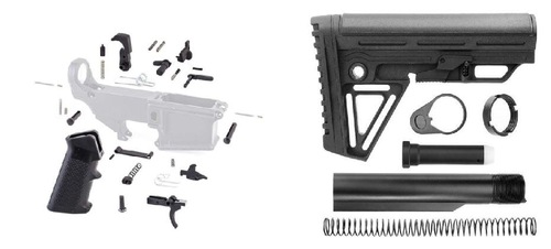 MDX Arms Large Selection of Stocks - Stock Parts - Braces