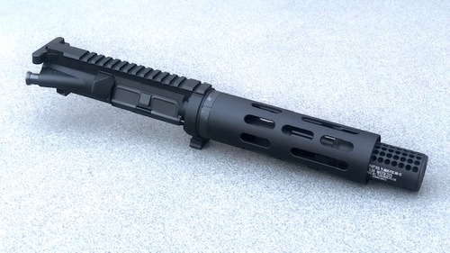 "MDX Arms 7.5""DOLOS QD Takedown Complete Upper with Smooth HG, Socom Dummy Suppressor Right Side"