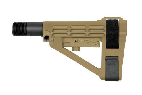 SB Tactical SBA4 5 Position Pistol Stabilizing Brace w/ Mil Spec Buffer Tube