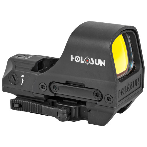 Holosun HS510C Open Reflex Solar w/ Internal Battery, Quick Release Dot Right Side View