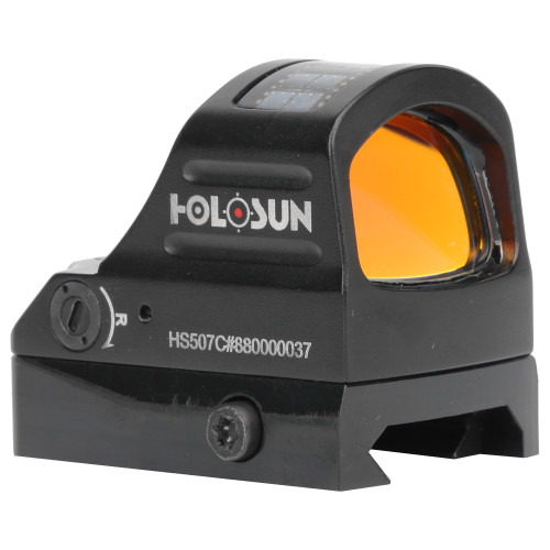 Holosun HS507C Open Reflex Solar/Battery Powered Dot
