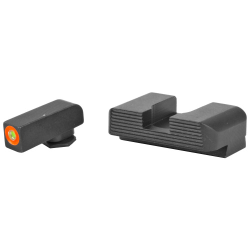 AmeriGlo Hackathorn Night Sight Set for Glock Except G42/G43)