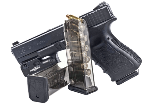 Elite Tactical System (ETS) Glock 19 10rnd 9mm Clear Polymer Finish