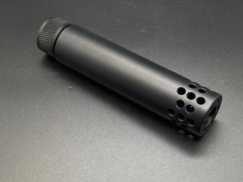 Guntec AR15 Slip Over Barrel Shroud with Compensator