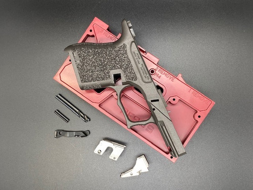 Polymer80 PF9SS 80% Textured Single Stack 9mm Pistol Frame Kit for Glock G43