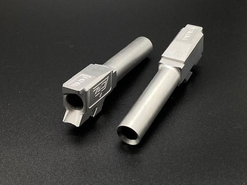 Zaffiri Precision G43 Barrel Flush and Crown – Stainless Rear View