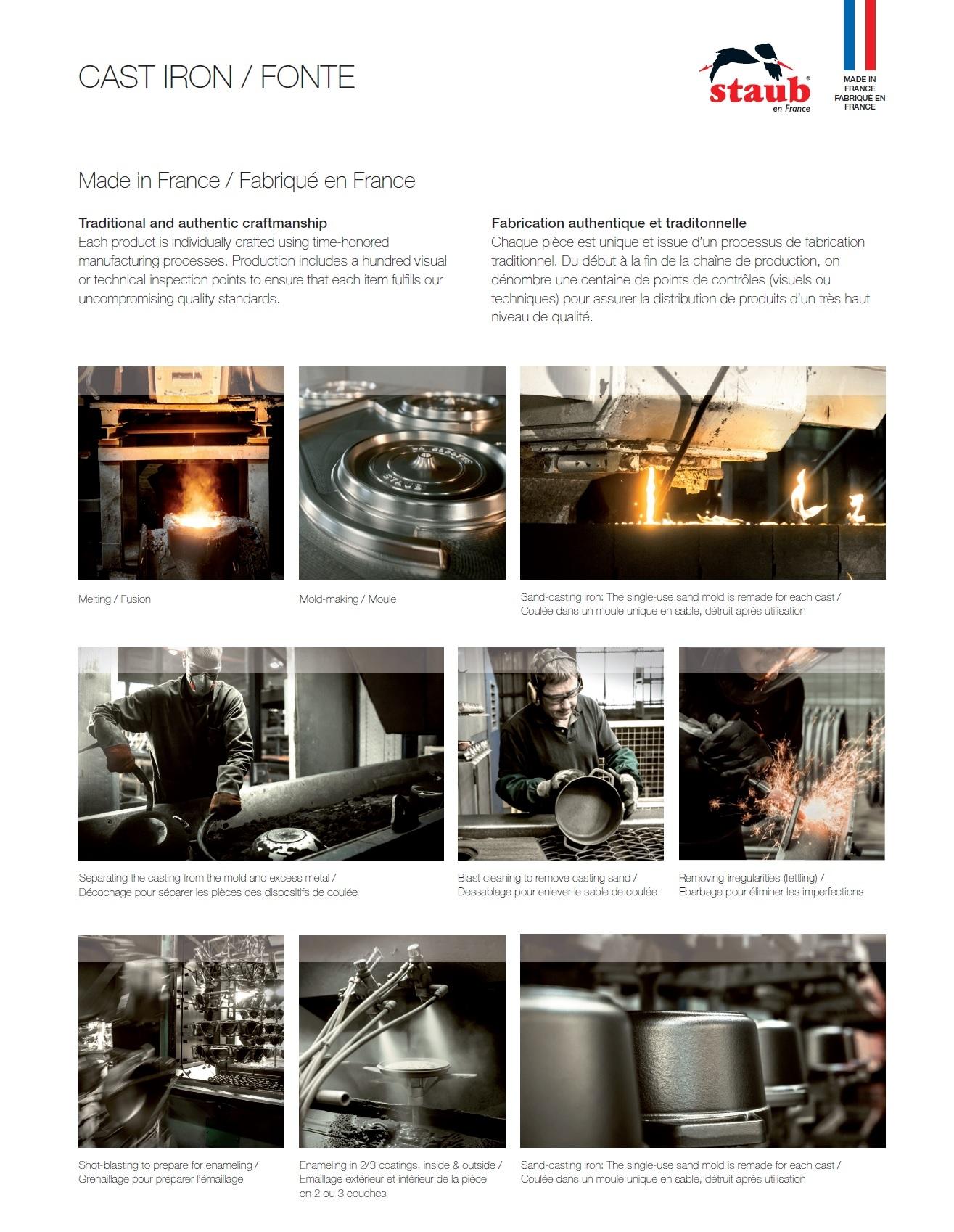 Staub Cast Iron - How It's Made
