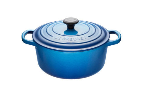 Le Creuset - 1.8 L (2 QT) Blueberry French Round Dutch Oven
