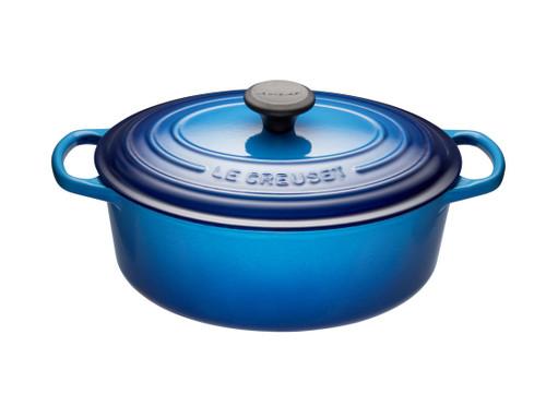 Le Creuset - 6.3 L (6.75 QT) Blueberry French Oval Dutch Oven