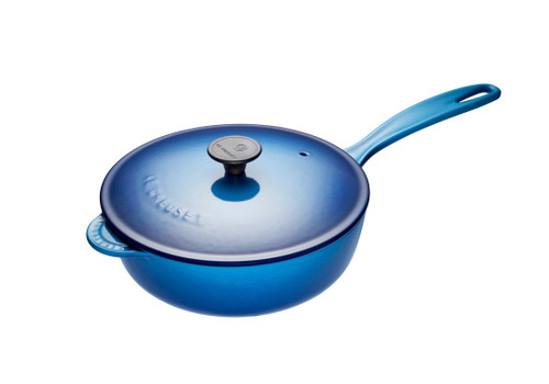 Le Creuset - 2 L (2.25 QT) Blueberry Saucier Pan