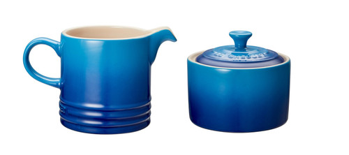Le Creuset - Blueberry Cream and Sugar Set