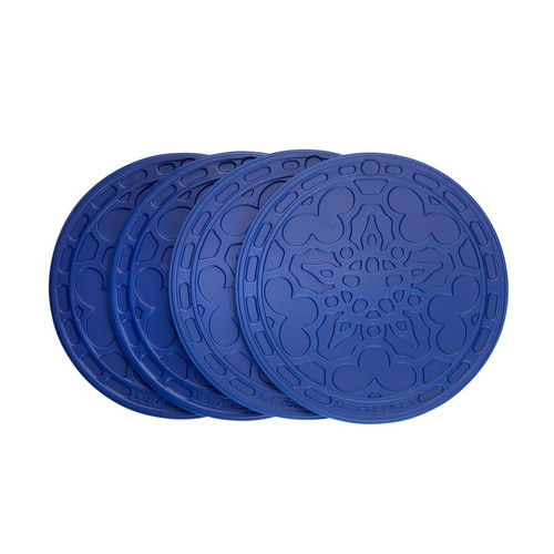 Le Creuset - Blueberry 10cm French Coasters Set of 4