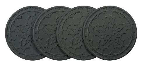 Le Creuset - Oyster 10cm French Coasters Set of 4