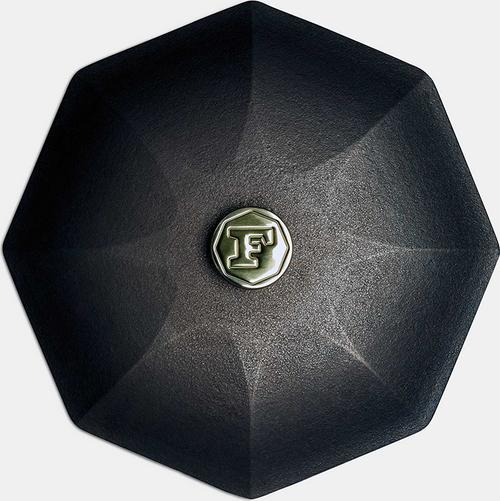 "Finex - 12"" Cast Iron Cover - L12-10001"