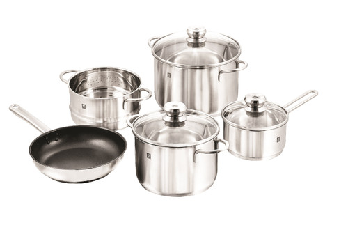 Zwilling J.A. Henckels - 8pc Twin Nova Stainless Steel Cookware Set