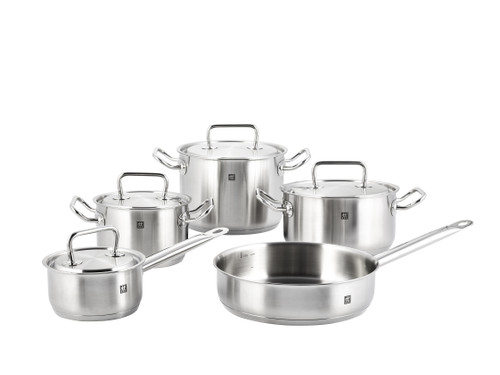 Zwilling J.A. Henckels - 9pc Twin Classic Stainless Steel Cookware Set