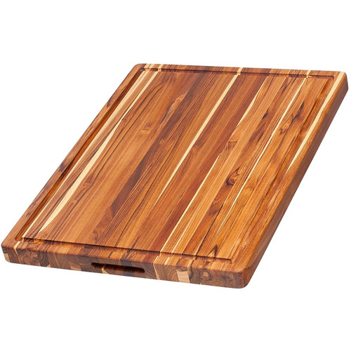 "Pro Teak - Rectangular Cutting Board with Juice Canal 24"" x 18"" x 1.5"" - TH108"