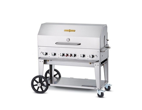 "Crown Verity - 48"" Liquid Propane BBQ With Roll Dome - MCB48RDPLP"
