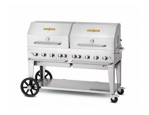 "Crown Verity - 60"" Liquid Propane BBQ With Roll Dome - MCB60RDPLP"