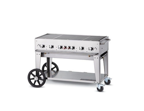 "Crown Verity - 48"" Natural Gas Mobile Grill - MCB48NG"