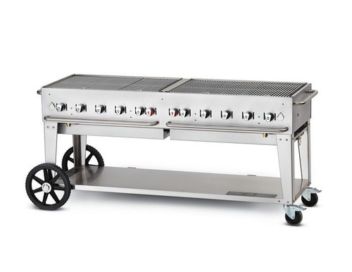 "Crown Verity - 72"" Natural Gas Mobile Grill - MCB72NG"
