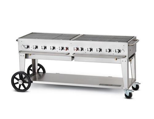 "Crown Verity - 72"" Liquid Propane Mobile Grill - MCB72"