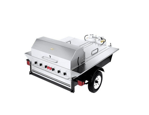 Crown Verity - Towable Grill With Storage - TG1LP