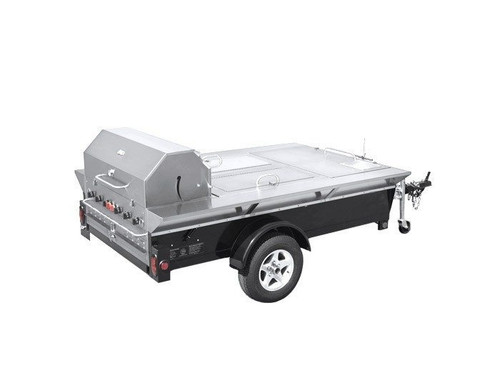 Crown Verity - Towable Grill With Storage & Sink - TG4LP