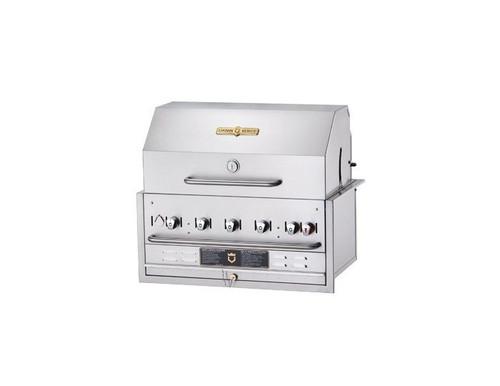 "Crown Verity - 36"" Natural Gas Built-In BBQ - BI36PKGNG"