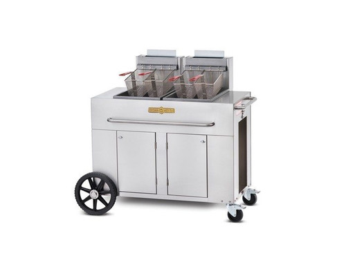 Crown Verity - Double Tank Fryer Natural Gas - PF2NG