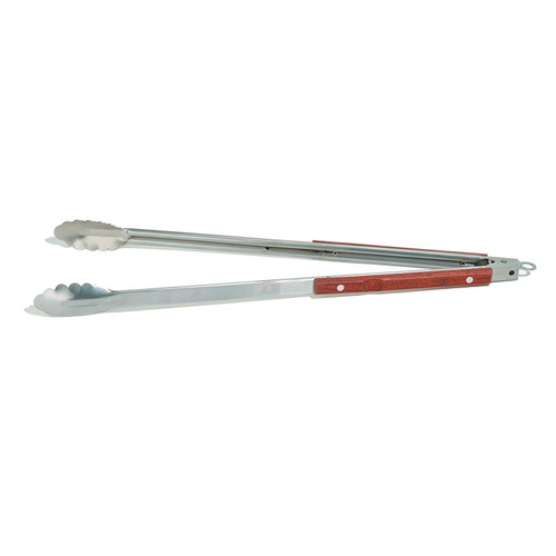 Outset - Rosewood Collection Extra-Long Locking Tongs - QB22